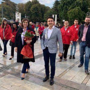 Корнелия Нинова в Силистра: Общински борси ще са подкрепата на нашите кметове за местното производство