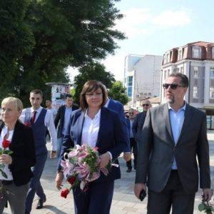 Корнелия Нинова: ГЕРБ се опитват да спечелят служебна победа