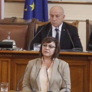Нинова пита Борисов: Кой ви упълномощи еднолично да заявите, че ще платим за самолетите веднага?