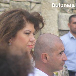 Илияна Йотова бе почетен гост на Крепостта на Кирилицата