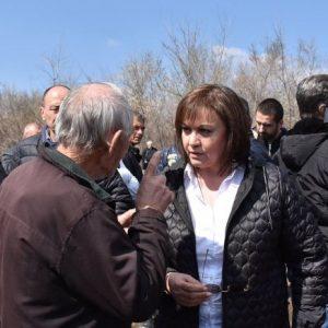 БСП за България внася искане правителството да обезщети пострадалите от наводненията
