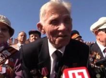 Ветеран си спомня 1945 : Хвърляха немски знамена в краката на Ленин, аз изминах точно 210 крачки до мавзолея (ВИДЕО)