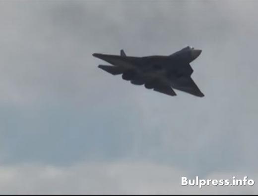 Суперизтребители от пето поколение Т-50 влизат в руската армия (ВИДЕО)