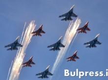 """Су-27 от """"Русские витязи"""" се разби край Москва, пилот го отклони от селце и загина (ВИДЕО)"""