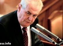 Чешкият президент със скандално изказване за Русия и САЩ