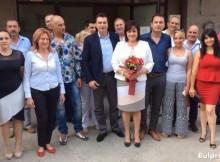 Корнелия Нинова прие 16 младежи в БСП-София, район Оборище