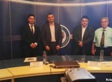 Кирил Добрев и Атанас Зафиров обсъждат антикорупционни мерки с румънски парламентаристи