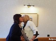 Еврокомисар Корина Крецу се срещна с Корнелия Нинова