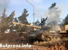 Руските и американските военни обединиха усилията си в борбата за Ракка