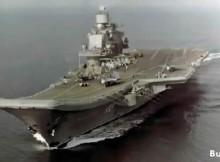 """Самолетоносачът """"Адмирал Кузнецов"""" ще изпълнява функциите на """"Мистрал"""" за руския флот"""
