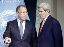 Лавров призова Кери да не допуска ново разгаряне на конфликта в Донбас