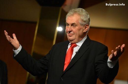 Президентът на Чехия с култова и оригинална атака срещу Меркел!