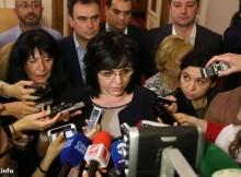 Корнелия Нинова: Решенията в БСП се взимат по правила