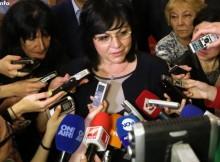 Корнелия Нинова: Аз предложих номинацията на ген. Румен Радев
