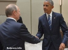 Извънредно от Китай: Путин и Обама си стиснаха ръцете и седнаха на преговори