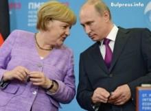 Ханделсблат: Меркел или Путин?