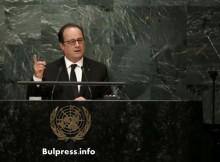 Оланд обвини Сирия за провала на примирието