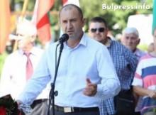 Хората в Димово за Румен Радев: Хем силен, хем човечен!