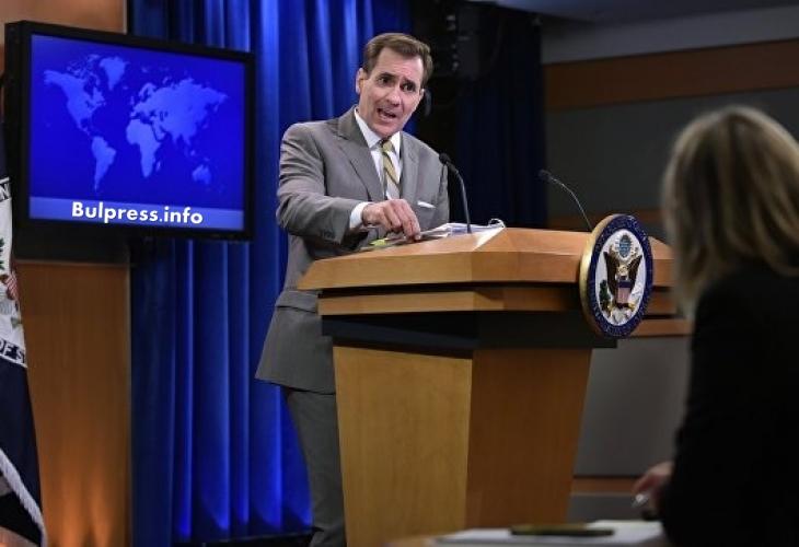 Нов скандал между Вашингтон и Москва: Захарова обеща да не остане длъжна на Кирби (ВИДЕО)
