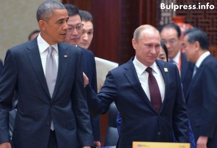 Кремъл и Белия дом съобщиха за какво са разговаряли Путин и Обама
