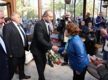 Ген. Радев в Болярово: На всички българи трябва да се гарантират еднакви права, независимо къде живеят