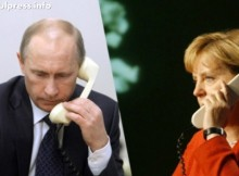 Интерфакс предаде за много важен телефонен разговор между Путин и Меркел!