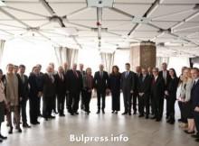 Румен Радев и Илияна Йотова се срещнаха с посланиците на страните от Европейския съюз