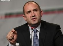 Извънредно! Румен Радев с гневна реакция срещу Плевнелиев за решението да не назначава кабинет