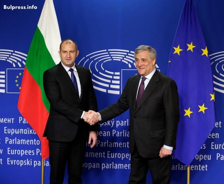 Радев със силни думи за Европа и България!