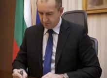президентът Румен Радев подписа указите за служебните министри - почват работа на 27 януари