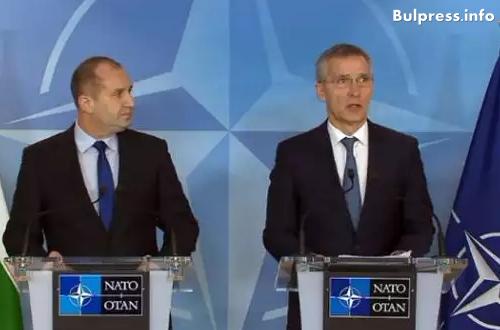 Столтенберг към Радев: Добре дошъл отново! България е ценен съюзник, очаквам да работим заедно