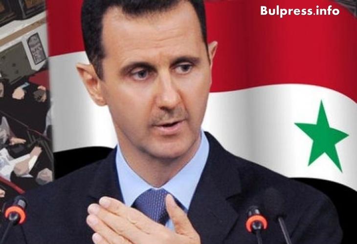 Башар Асад предупреди: Тези, които в Сирия убиват хора с картечници, се появяват в Европа като мирни бежанци!