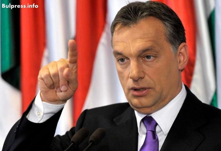 """Виктор Орбан с любопитно предложение за """"истинските бежанци"""""""
