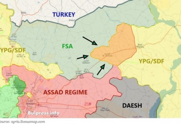 """Москва спря """"Щита на Ефрат"""": Ще се примири ли Ердоган?"""