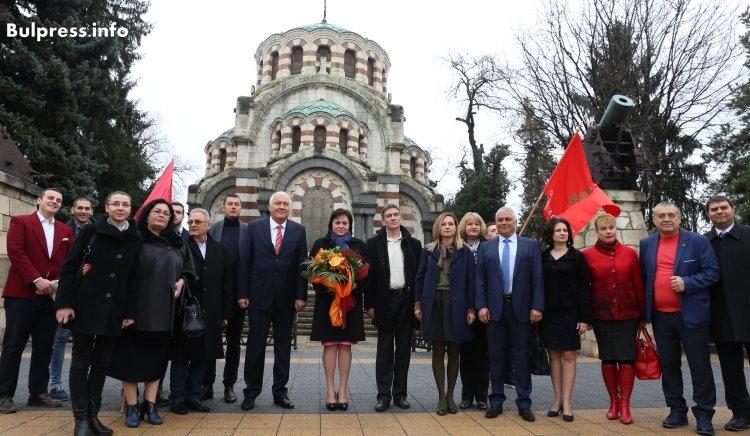 Корнелия Нинова в Плевен: Унищожаваме паралелната държава и ще има средства за всичко