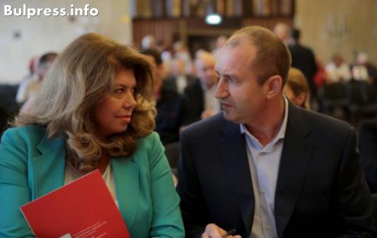 Илияна Йотова със семейство в президентството - вицето на Радев се обгради само с близки хора и ги брани със зъби и нокти