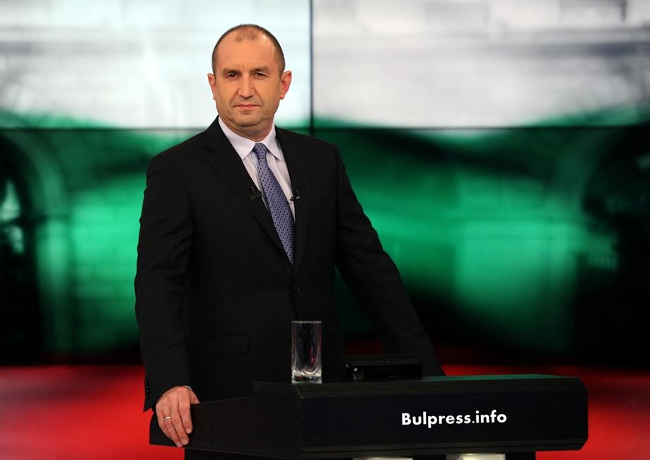 Президентът Румен Радев поздрави всички българи за Великден
