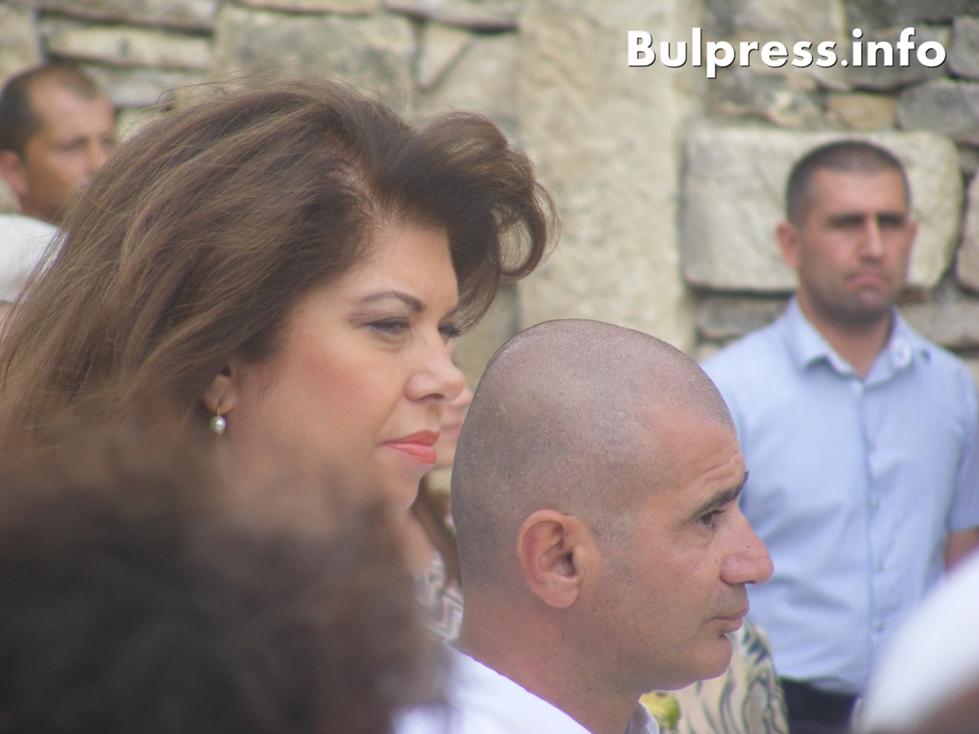 Илияна Йотова бе почетен гост на Крепостта на Кирилицата Стефан Пройнов
