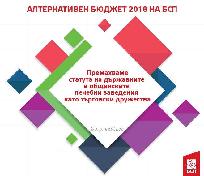 Бюджетът на БСП цели справяне с бедността, качествено здравеопазване и образование, преодоляване на социалните различия