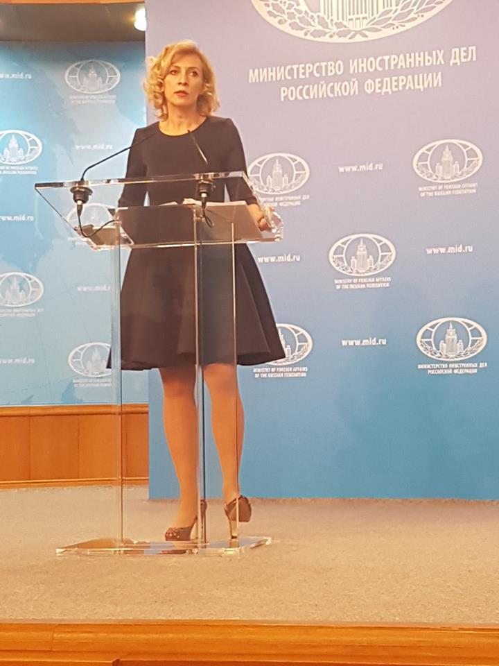 Блокада! Мария Захарова отговаря на въпроси за Крим!