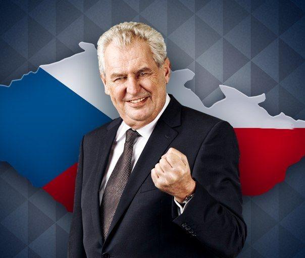 Земан новият стар президент !