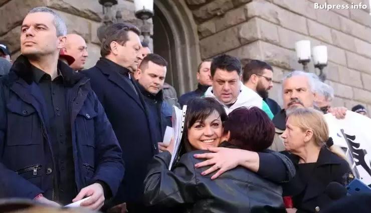 Корнелия Нинова: Г-н Борисов, народът излезе по улиците и всеки ден си казва думата, а тя е – Оставка!