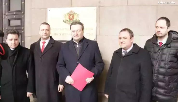Таско Ерменков: Надяваме се КС да възстанови Валери Жаблянов на поста зам.-председател на НС