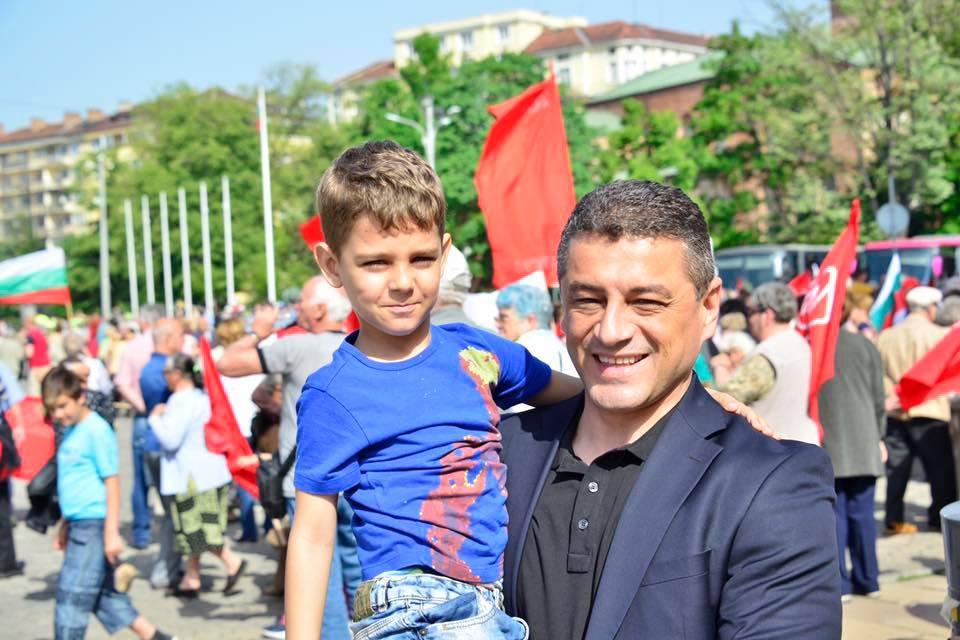 Красимир Янков на 1-ви Май в София