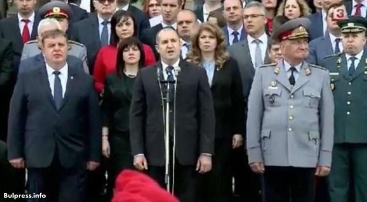 Корнелия Нинова: Честит празник на Българската армия! Честит ден на храбростта.
