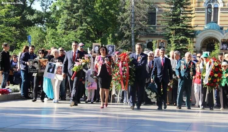 Корнелия Нинова на 9 май: Никога повече война! Без Деня на победата, Европа нямаше да е същата
