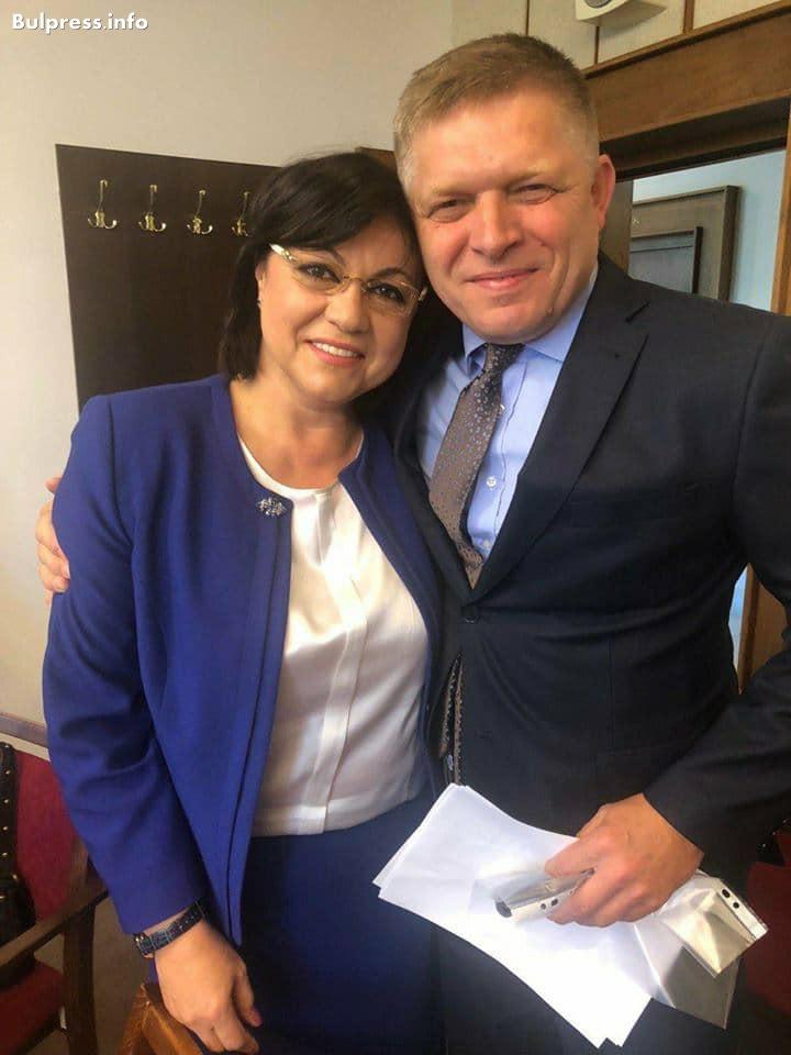 Корнелия Нинова: Подкрепяме декларацията на Вишеградската четворка от Будапеща