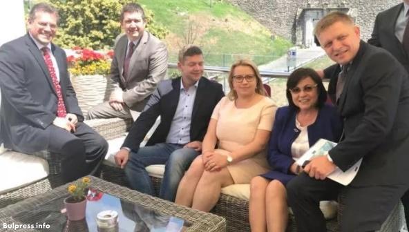 Срещата на четиримата лидери на партии от Вишеградската четворка и Корнелия Нинова завърши с обща декларация