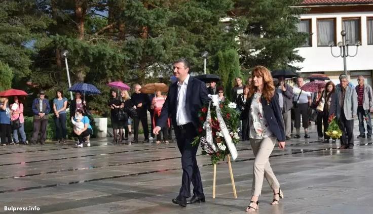 Драгомир Стойнев бе гост на тържествата по случай 136-та годишнина от рождението на Георги Димитров в Ковачевци
