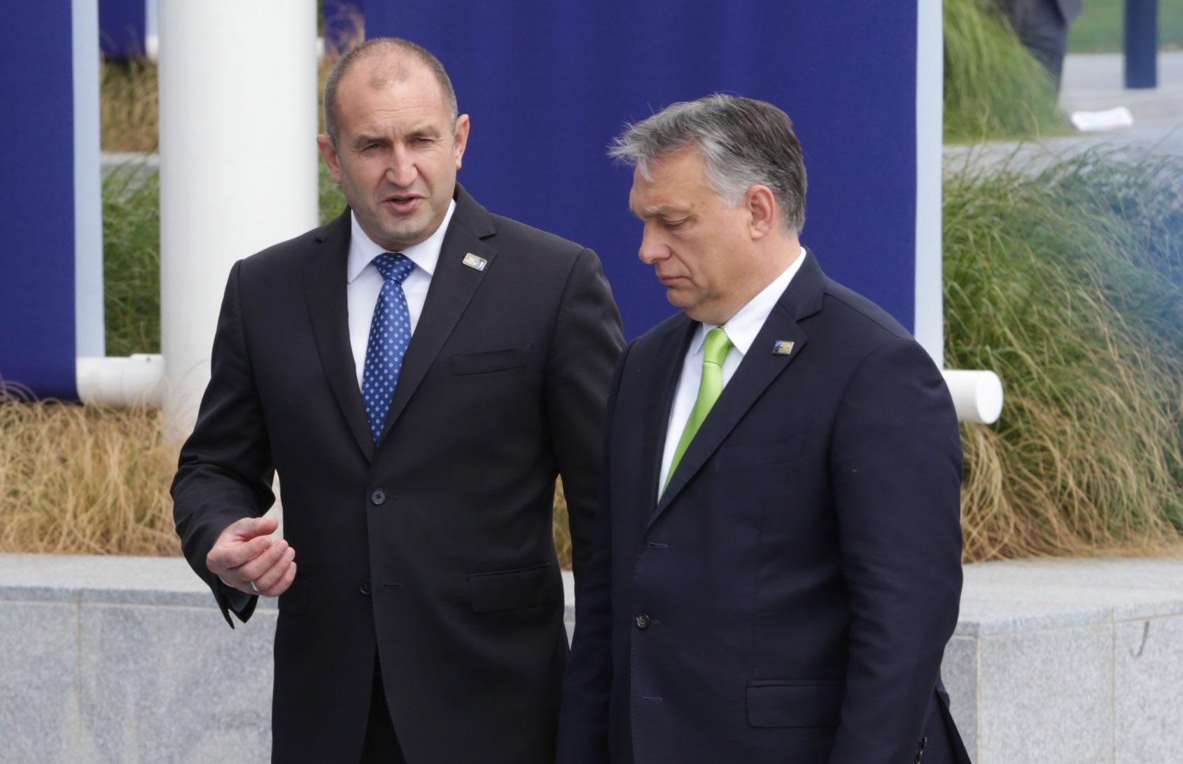 Румен Радев: Оказа се, че България има две позиции за Унгария - едната за у нас, другата за пред ЕС